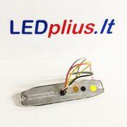 Įspėjamasis 6X LED žibintas (slim)