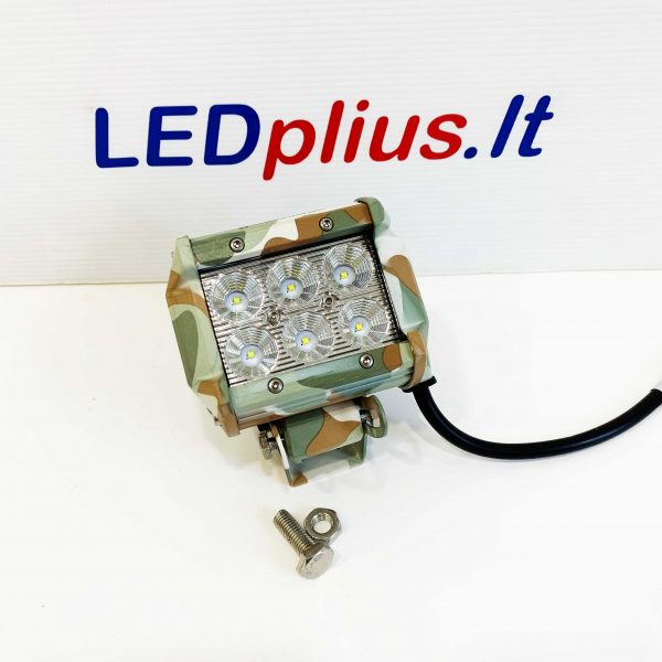18w LED lempa