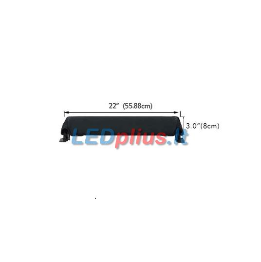 led lempos uzdangalas 55cm